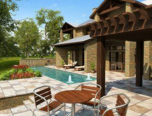 Outdoor Living #005 by Athena Pools